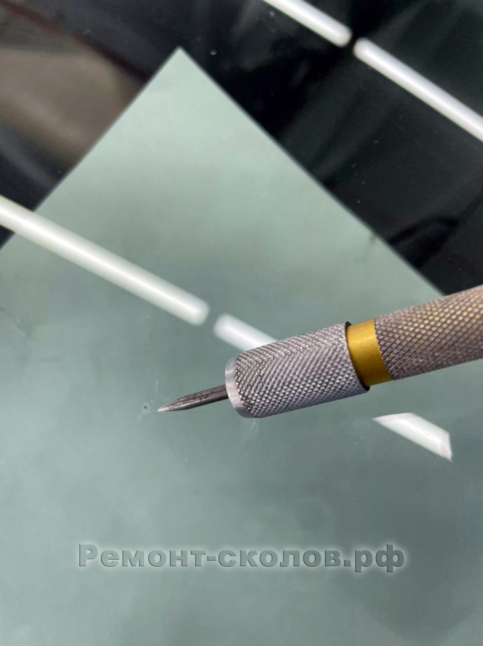 KIA ремонт лобового стекла в ЮЗАО