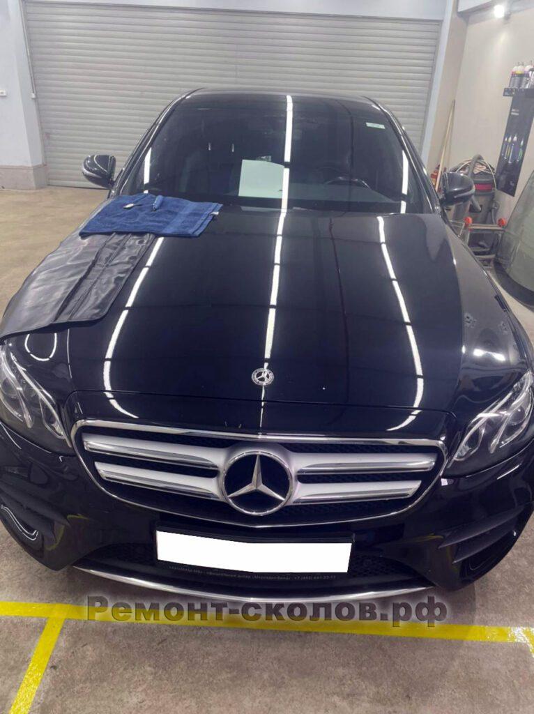 Ремонт лобового стекла Mercedes в ЮЗАО